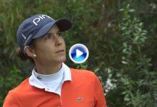 El Golf es duro… Azahara Muñoz dijo adiós al título en el Open de España con este grave error (VÍDEO)