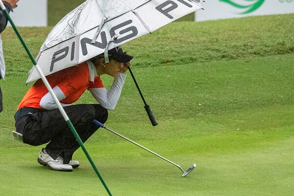 Azahara Muñoz estuvo muy cerca de conquistar su tercer título consecutivo en el Open de España