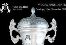 Font del Llop acoge el próximo 25 de noviembre la quinta edición de su prestigiosa Copa Presidente