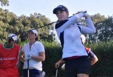 Luna Sobrón mete la directa en el Campeonato de España de Profesionales Femenino en Pedreña
