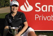 Luna Sobrón, brillante ganadora del Campeonato de España de Profesionales Femenino en Pedreña