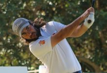 Daniel Berna, muy cerca de su primera victoria en el Circuito Seve Ballesteros PGA Tour en Castellón