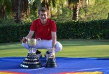 Eduard Rousaud engrandece su palmarés con el título de la Copa Nacional Puerta de Hierro