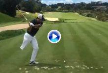 Vea el increíble swing a cámara lenta de Juan Postigo, campeón español de golf adaptado (VÍDEO)