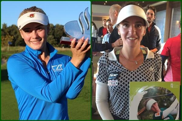 Julia Engstrom, de 17 años de edad, se impone en El Prat y Elia Folch logra la tarjeta del Tour Europeo