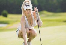 Spiranac, la Kournikova del Golf, descubre su secreto: «Lo que no me gusta es la competición»
