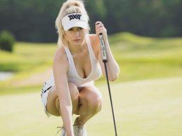 """Spiranac, la Kournikova del Golf, descubre su secreto: """"Lo que no me gusta es la competición"""""""