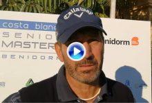 Santi Luna, encantado con la Costa Blanca: «Jugar aquí es un lujo, esto es una maravilla» (VÍDEO)