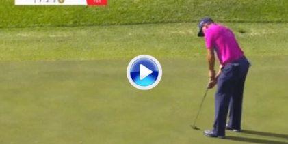 El Golf es duro… Sergio García sufrió en sus carnes esta cruel corbata de 360º en Sudáfrica (VÍDEO)