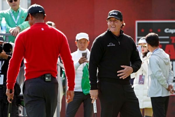 Tiger Woods, Phil Mickelson, @GolfWeek,