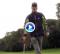 ¡Mira, sin mirar! Descubran una novedosa forma de llevar la bola al hoyo con este Trick Shot (VÍDEO)