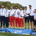 18 06 28 Mario Galiano, Iván Cantero y Álvaro Velasco Juegos del Mediterráneo