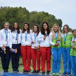 18 06 28 Patricia Sanz, Natalia Escuriola y Marta Sanz Juegos del Mediterráneo