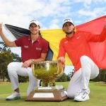 18 11 25 Thomas Pieters y Thomas Detry World Cup of Golf