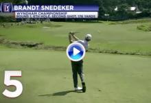 Los 10 mejores golpes del 2018 para el PGA Tour (5): Snedeker entró en la historia con su 59 (VÍDEO)