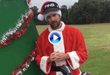 Watson se disfrazó de Bubbaclaus para dar a conocer una campaña de donación a ONG's (VÍDEO)