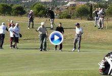 Así fue el último golpe y la despedida del mítico Eamonn Darcy de los campos de golf (VÍDEO)