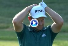 El Golf es duro… Estos fueron los golpes con más mala suerte del año en el PGA Tour (VÍDEO)