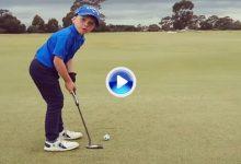 Isaac Riches, el niño prodigio australiano de 6 años, vuelve con este putt cargadito de descaro (VÍDEO)