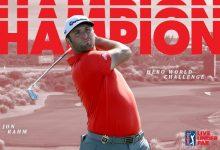 Un triunfo que vale un ascenso: la victoria de Rahm en Bahamas lo sitúa como 6º golfista del mundo