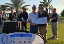 Jiménez finaliza 2º en el Costa Blanca Benidorm Senior Masters tras caer en un vibrante desempate