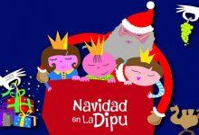 Santa Claus elige el Palacio Provincial para montar su campamento de invierno en Alicante