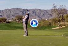 El Golf es duro… Este putt fallado de apenas un metro privó a un pro de jugar en el Web (VÍDEO)