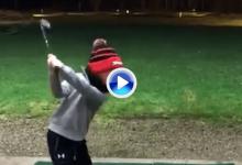 Vean, disfruten y alucinen con el grandísimo swing de este niño de apenas 6 años de edad (VÍDEO)