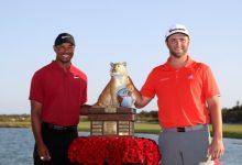 Jon Rahm y Tiger Woods debutarán este 2020 en un evento regular en un cara a cara (VER HORARIOS)