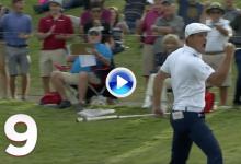Los 10 mejores golpes del 2018 para el PGA Tour (9): DeChambeau se destapó con este gran putt (VÍDEO)