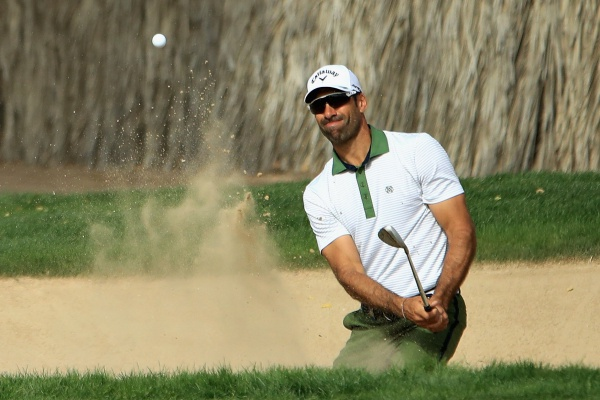Álvaro Quirós Dubai Desert Classic j2 @EuropeanTour