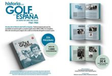336 pag. y más de mil fotografías: La Edad de Oro del Golf Español 1960/1985, un libro imprescindible