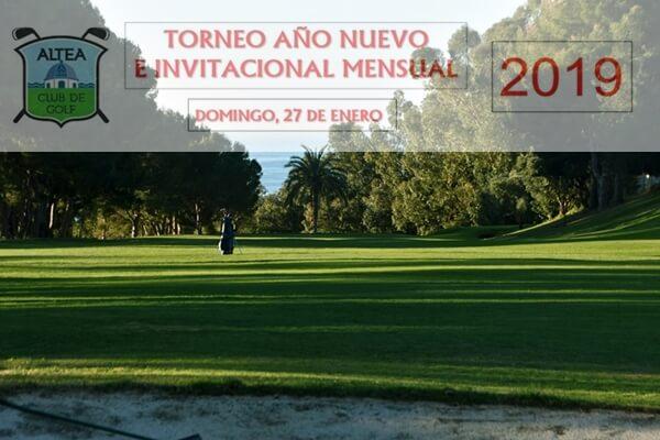 Altea Golf Club te ofrece el mejor plan para el próximo domingo 27 de enero: El Torneo Año Nuevo