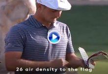 ¿Juego lento? Miren la rutina de DeChambeau en cada golpe. 80″ mirando todos los detalles (VÍDEO)