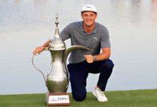 Grandísimo tercer puesto de Sergio y Quirós en Dubái en el triunfo incontestable de DeChambeau