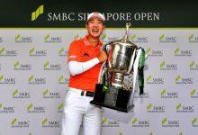 Sergio se va del Singapur Open con un séptimo puesto en el triunfo del tailandés Janewattananond