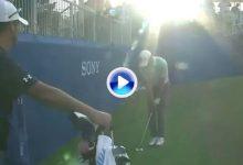 El Golf es duro… Spieth se quedó a centímetros (por dos veces) de pasar el corte en Hawaii (VÍDEO)
