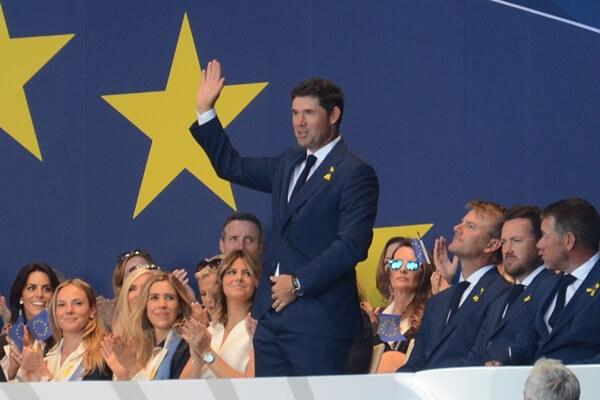 Padraig Harrington durante la presentación de la Ryder Cup de París. Foto: OpenGolf.es