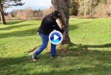 Jonas tira de la picaresca y pregunta: ¿es legal si golpeas dos veces la bola de esta forma? (VÍDEO)