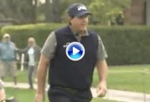Mickelson fue puro espectáculo en La Quinta. El de San Diego, autor del Golpe del Día el jueves (VÍDEO)