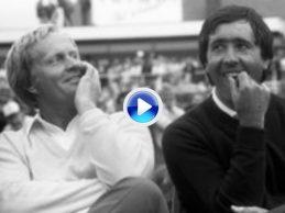 ¿Recuerdas… Cuando Seve derrotó a Nicklaus en un 1 vs. 1 memorable disputado en Irlanda? (VÍDEO)