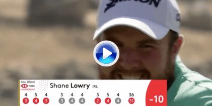 Lowry arranca el 2019 como una moto. Igualó el récord del Abu Dhabi GC con esta vuelta (VÍDEO)