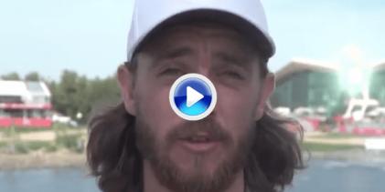 Tommy Fleetwood apuesta por Adri Arnaus como el jugador revelación de este 2019 en el Tour (VÍDEO)