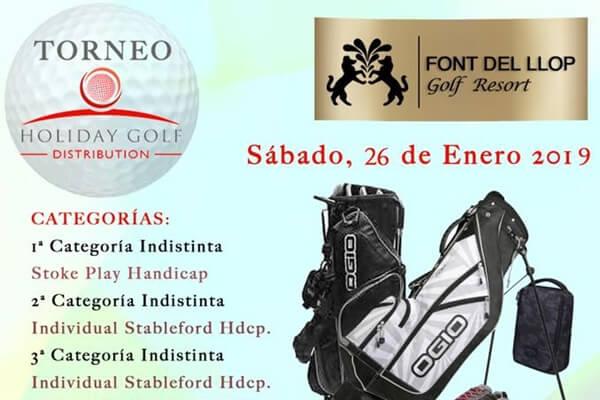 Font del Llop acoge el Torneo Holiday Golf, evento donde habrá sorpresas que no te puedes perder