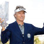 19 02 10 Bernhard Langer campeón en el Oasis Championship