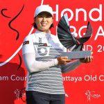 19 02 24 Amy Yang campeona en el Honda LPGA Thailand