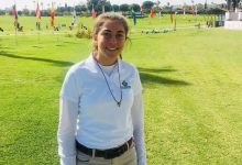 Comienzo fulgurante de Ana Amalia Pina en la Copa S. M. La Reina 2019 que tiene lugar en Zaudín Golf
