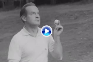 ¿Recuerdas… la primera estrella de la TV que se nos mostró como gran apasionado del golf? (VÍDEO)