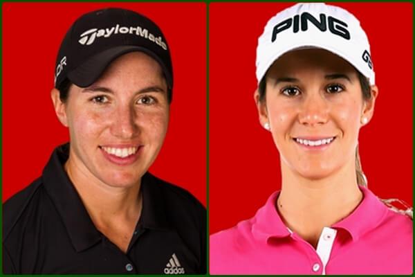 Carlota Ciganda y Azahara Muñoz son las dos españolas esta semana en la LPGA