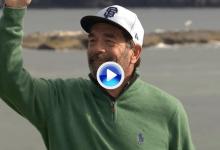 Y el Golpe del Día en la 1ª jornada del Pebble Beach Pro-Am se lo lleva ¡el amateur Huey Lewis! (VÍDEO)